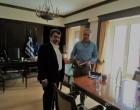 Συνάντηση Αντιπεριφερειάρχη Νήσων με τον Υπουργό Εσωτερικών