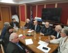 Συνάντηση αντιπροσωπείας την Ένωσης Δημοτικών Ραδιοτηλειπτικών ΜΜΕ Ελλάδας με τον ΓΓ Ψηφιακής Πολιτικής κ. Λ. Κρέτσο για το ψηφιακό ραδιόφωνο