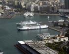 Υποδοχή της Παναχράντου από την Άνδρο στο λιμάνι του Πειραιά