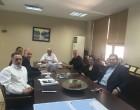 Σύσκεψη με θέμα τη νέα, κλειστή Αγορά του Πειραιά, με τη συμμετοχή όλων των Φορέων, μετά την ένταξη της ΣΤΑΣΥ Α.Ε. στο «Υπερταμείο».