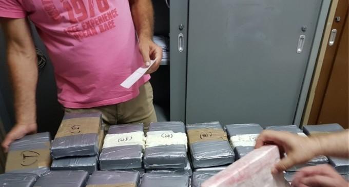 Πειραιάς: Έπιασαν κοντέινερ με 42 κιλά κοκαΐνης μέσα σε φορτίο με μπανάνες