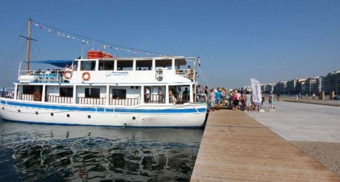 Και 3ο καραβάκι στον Θερμαϊκό -Προς τις παραλίες της Περαίας και των Νέων Επιβατών
