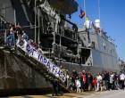 22.000 επισκέπτες στα 3 πολεμικά πλοία που κατέπλευσαν στον Πειραιά