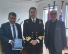 Επίσκεψη Δ.Κατάρα στους Αντιπεριφερειάρχες Πειραιά και Νήσων