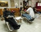 Εθελοντική αιμοδοσία στο Πνευματικό Κέντρο του Ι.Ν.  AΓ. Νείλου Μυροβλήτου στον Πειραιά