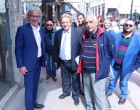 Περιοδεία Νίκου Βλαχάκου στο κέντρο του Πειραιά – Συζήτηση του υποψηφίου Δημάρχου με πολίτες και καταστηματάρχες