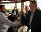 Φιλική συνάντηση Κώστα Χολέβα με Βαγγέλη Μαρινάκη
