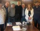 Συνάντηση Γιάννη Μώραλη με μέλη του Σωματείου Κωφών & Βαρήκοων Πειραιώς & Νήσων