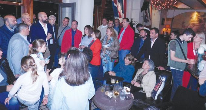 Στήριξη πολιτών στον Ιωσήφ Βουράκη: Με επιτυχία η συγκέντρωση του υποψηφίου δημοτικού συμβούλου Πειραιά με το συνδυασμό ΠΕΙΡΑΙΑΣ-ΝΙΚΗΤΗΣ του Γιάννη Μώραλη