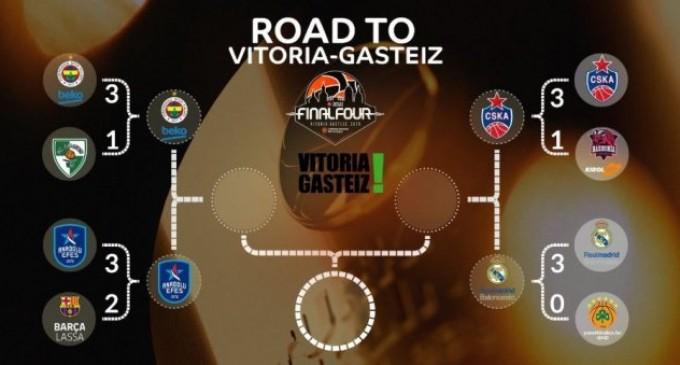 Euroleague: Το πρόγραμμα του Final 4 της Βιτόρια