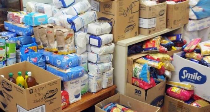 Διανομή τροφίμων ΤΕΒΑ σε Νίκαια και Ρέντη