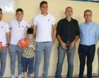 O Δήμαρχος Πειραιά στο Ειδικό Δημοτικό Σχολείο Αυτιστικών για την Πανελλήνια και Ευρωπαϊκή Ημέρα Σχολικού Αθλητισμού