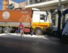 Φοβερό τροχαίο στα Ταμπούρια – Φορτηγό διέλυσε ΙΧ (φωτο)