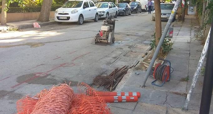 Ξεκίνησε η ανάπλαση της οδού Ειρήνης στο Νέο Φάληρο