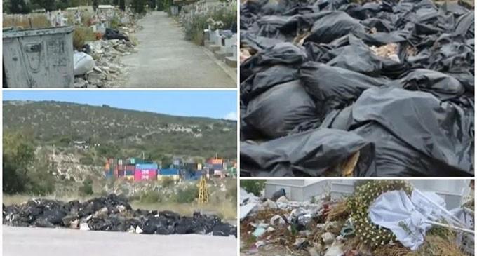 Απέραντη χωματερή το νεκροταφείο Σχιστού – Τι απαντά ο Κυρίτσης