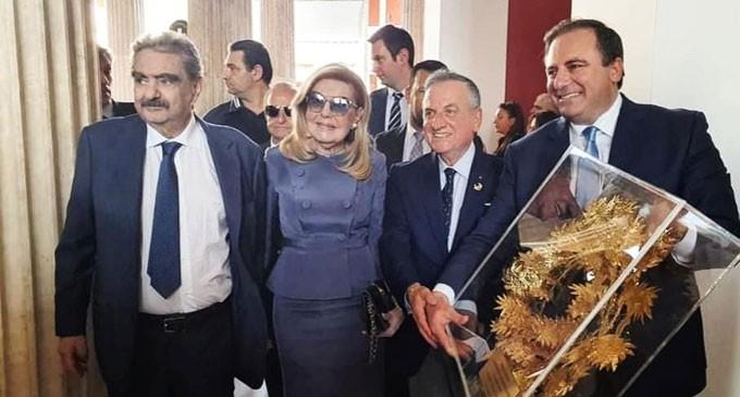 Μ. Βαρδινογιάννη: Το Διεθνές Ίδρυμα Σαλαμίς στηρίζει με πάθος την περιοχή και την ιστορία της