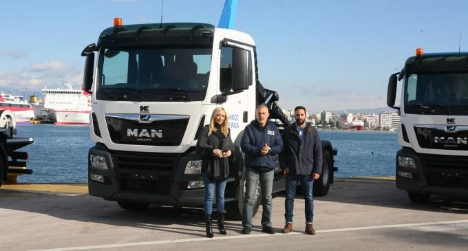 Νέα οχήματα στον Τομέα Καθαριότητας του Δήμου Πειραιά
