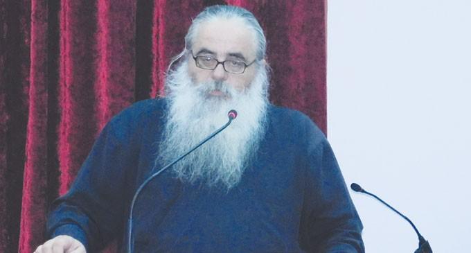 Ομιλία π. Πολύκαρπου Μπόγρη