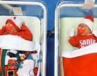 Έντυσαν τα νεογέννητα Αϊ Βασίληδες για τις γιορτές σε νοσοκομείο