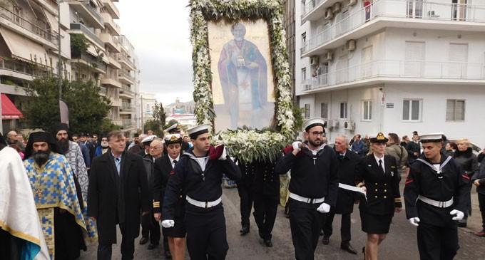 Εορτή και λιτάνευση της εικόνας του Αγίου Νικολάου