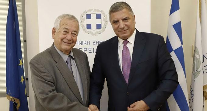 Εθιμοτυπική επίσκεψη του Προέδρου του ΑΣΕΠ Ιωάννη Καραβοκύρη στην Περιφέρεια Αττικής