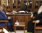 Συνάντηση του Περιφερειάρχη Αττικής Γ. Πατούλη με τον Σεβασμιότατο Μητροπολίτη Περιστερίου Κλήμη με επίκεντρο τη λειτουργία του Γηροκομείου