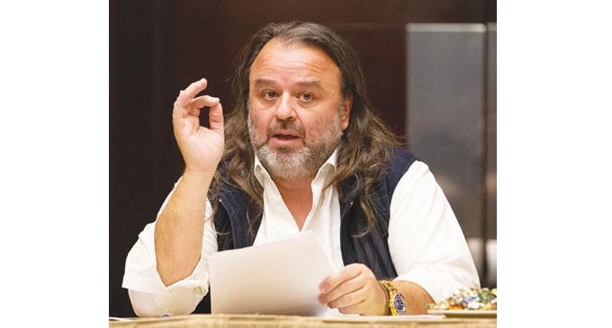 Ο Μάριος Ηλιόπουλος υποψήφιος στις εκλογές της ΟΜΑΕ
