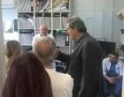 Επίσκεψη του πρώην αν. υπουργού Υγείας Π. Πολάκη στο Γενικό Νοσοκομείο Νίκαιας