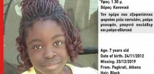 Βρέθηκε στην Γαλλία η μικρή Βαλεντίν που είχε εξαφανιστεί από το Παγκράτι