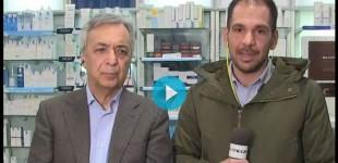Πρόεδρος Φαρμακευτικού Συλλόγου Πειραιά: Πουλάγαμε ένα πακέτο μάσκες τον μήνα, τώρα θέλουμε δέκα την ημέρα