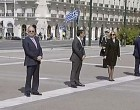 Επέτειος 25ης Μαρτίου στην άδεια Αθήνα -Πτήσεις μαχητικών και κατάθεση στεφάνων