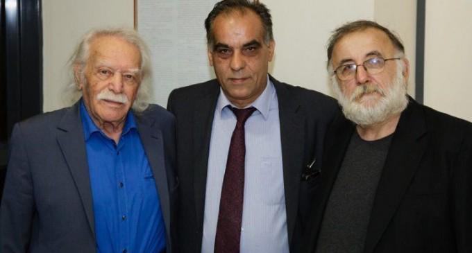 Γιάννης Λαγουδάκης: Οι αγώνες του Μανώλη Γλέζου για δημοκρατία και ελευθερία είναι γνωστοί παγκοσμίως