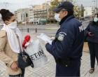 «Καμπάνα» σε 1.155 άτομα που κυκλοφορούσαν άσκοπα – Ακόμη 6 άνοιξαν παράνομα τα καταστήματα