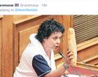 Το twitter… απαντά στην Κανέλλη για την άρνηση να δώσει το μισθό της