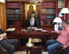 Τον Σεβασμιώτατο Μητροπολίτη Πειραιώς κ.κ. Σεραφείμ επισκέφθηκε ο Γιάννης Μώραλης