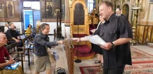 Ιερός Ναός Ευαγγελίστριας Πειραιά: Επίδοση βεβαιώσεων για παρακολούθηση σεμιναρίων