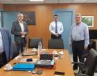 Σύσκεψη του Δημάρχου Μοσχάτου-Ταύρου με τον Διευθύνοντα Σύμβουλο του ΟΣΕ για τον Προαστιακό στον Ταύρο