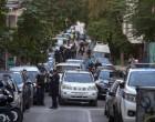 Κράνη, πυροσβεστήρες και κοντάρια βρέθηκαν στα υπό κατάληψη κτίρια της Δερβενίων