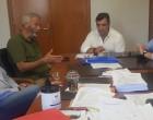 Γρηγόρης Γουρδομιχάλης: Συζήτηση για θέματα περιβάλλοντος & πυροπροστασίας του όρους Αιγάλεω