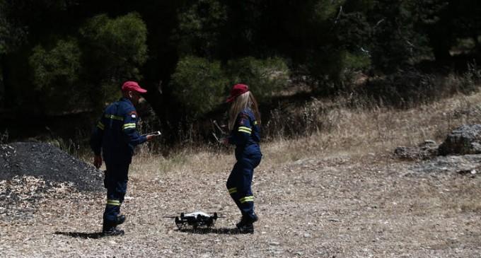 Υμηττός: Σηκώθηκε drone για τον αγνοούμενο – Φωτογραφίες από την επιχείρηση