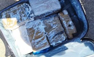 Ζευγάρι διακινητών συνελήφθη με 11 κιλά ηρωίνη