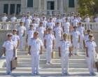 Απονομή Πτυχίων Σημαιοφόρων Πολεμικού Ναυτικού στην ΣΝΔ