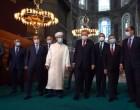Αγία Σοφία: Ζωντανή εικόνα λίγο πριν την πρώτη μουσουλμανική προσευχή