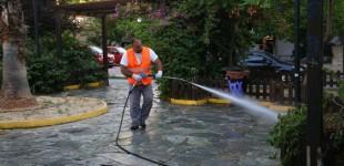 Εργασίες καθαρισμού και εξωραϊσμού στην πλατεία Νεράιδας στην Παλαιά Κοκκινιά