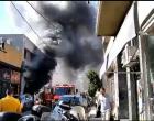 Μεγάλη πυρκαγιά ξέσπασε σε μαγαζί στην Αγία Σοφία Πειραιά  – Εγκλωβίστηκαν 2 άτομα (φωτο)