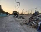 Καθαρισμός οδού Σαλαμινίας στον Ελαιώνα από παράνομη εναπόθεση υλικών