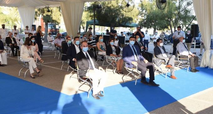 Λιμενικό: Τελετή ένταξης περιπολικού σκάφους με υγειονομικό εξοπλισμό