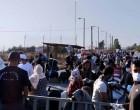 Συνεχίζεται η επιχείρηση της αστυνομίας για μετακίνηση μεταναστών και προσφύγων στο Καρά Τεπέ
