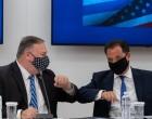Την επιστημονική και τεχνολογική συμφωνία Ελλάδας- ΗΠΑ υπέγραψαν Πομπέο-Γεωργιάδης