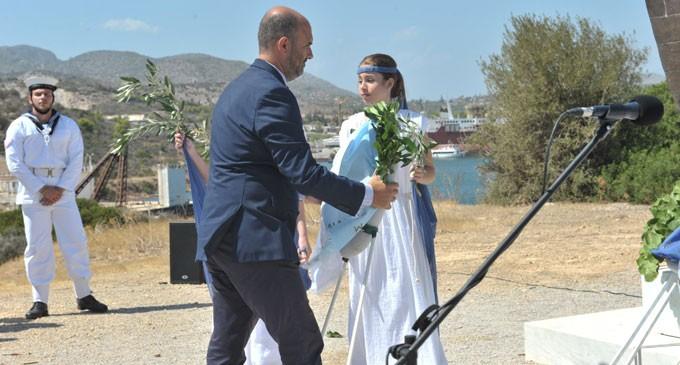 «Παρών» ο Δημήτρης Μαρκόπουλος στην υποδοχή του πρέσβη του Ισραήλ στη Σαλαμίνα